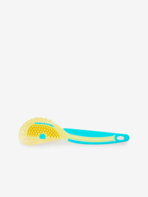 Larrie Turquoise Suede Brush with Wire