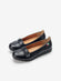 Larrie Women Black Cushioned Casual Fashion Flats