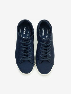 Larrie Navy LaKnit Basic Lace Up Sneakers