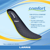 LARRIE Men Anti-Bacteria Leather Insoles