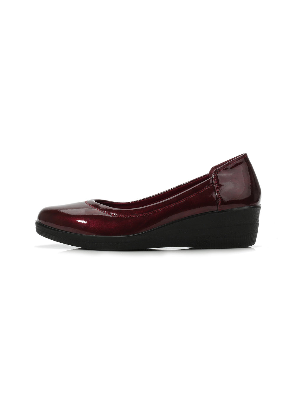 Larrie Red Cushioned Arch Support Flats