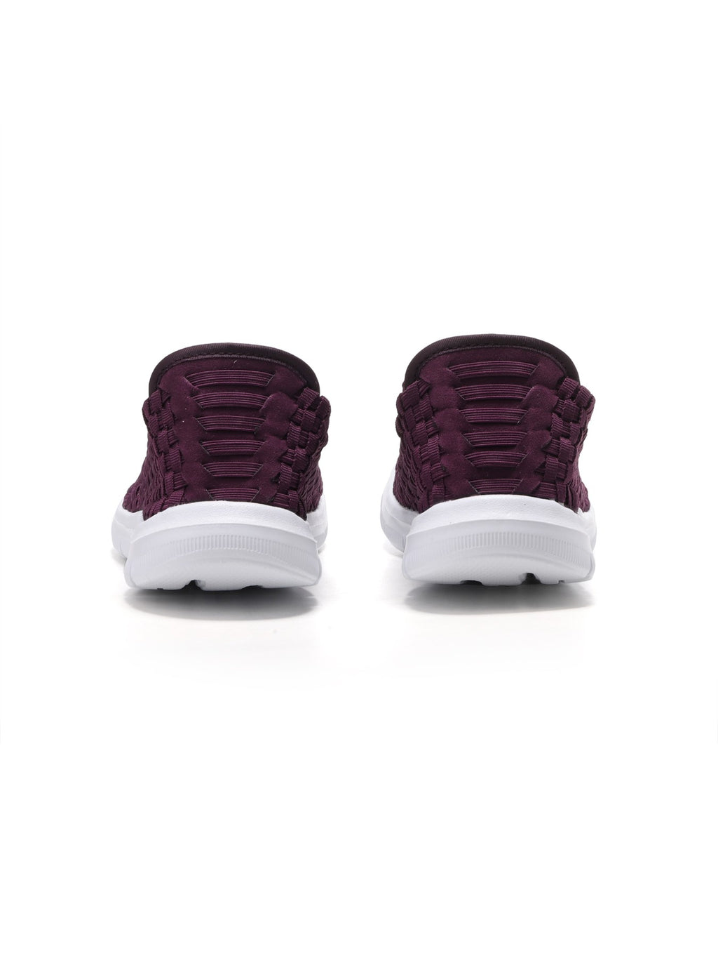 Larrie Purple Interlaced Fashionable Sporty Sneakers