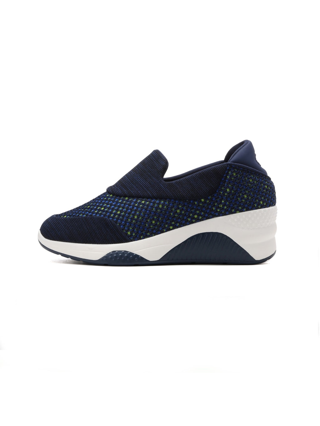 Larrie Navy Stylish Cushioned Sporty Sneakers