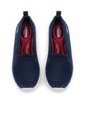 Larrie Navy Slip-on Lightweight Sneaker