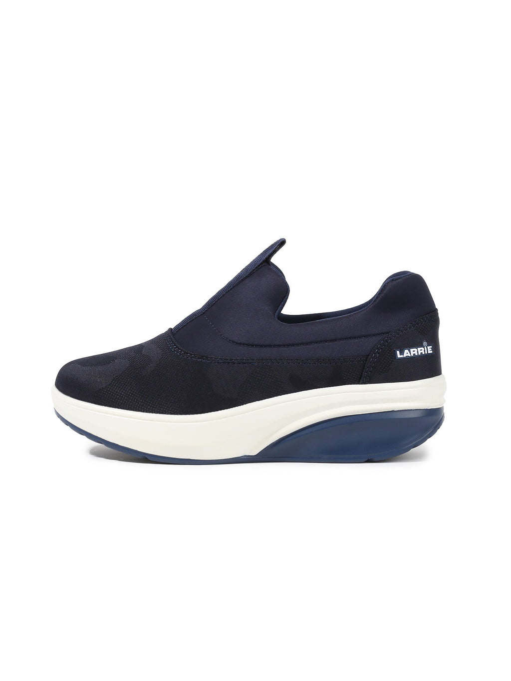 Larrie Navy Durable Extra Cushion Sneakers