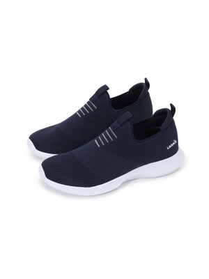 Larrie Navy Lightweight Cushioned Sneakers