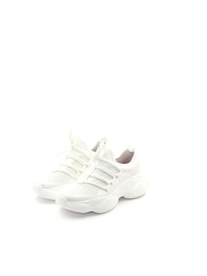 Larrie Women White Futuristic Comfy Sneakers