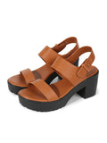 Larrie Brown Stylish Touch Vogue Heeled Sandals