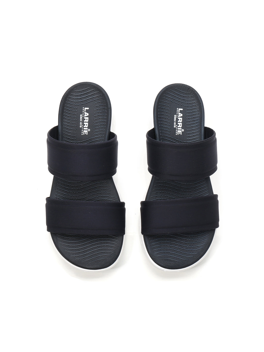 Larrie Navy Elegance Sporty Sandals