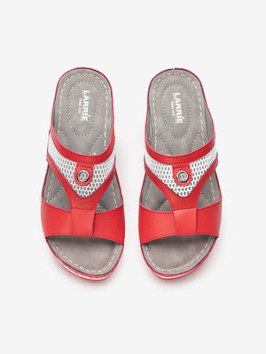 Larrie Women Red Feminine Fashionable Sandals