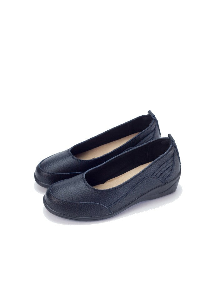 Larrie Women Black Classic Business Sports Flats