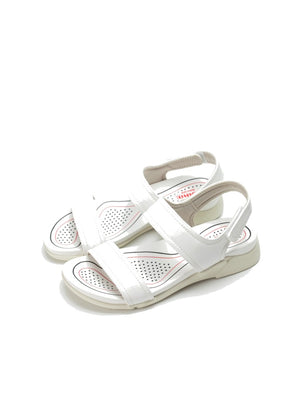 Larrie Women White OOTD Casual Sport Sandals