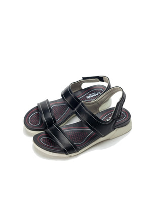 Larrie Women Black OOTD Casual Sport Sandals