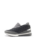 Larrie Grey Lightweight Casual Sporty Sneakers