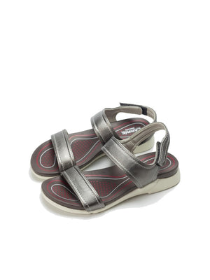 Larrie Women Grey OOTD Casual Sport Sandals