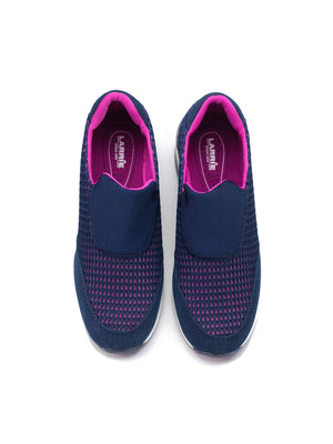 Larrie Navy Lightweight Casual Sporty Sneakers