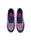 Larrie Purple Lightweight Casual Sporty Sneakers