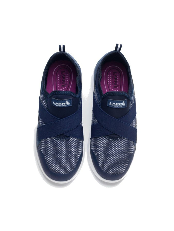 Larrie Navy Comfort Casual Sporty Sneakers L61709-KN02SV-43-NAVY