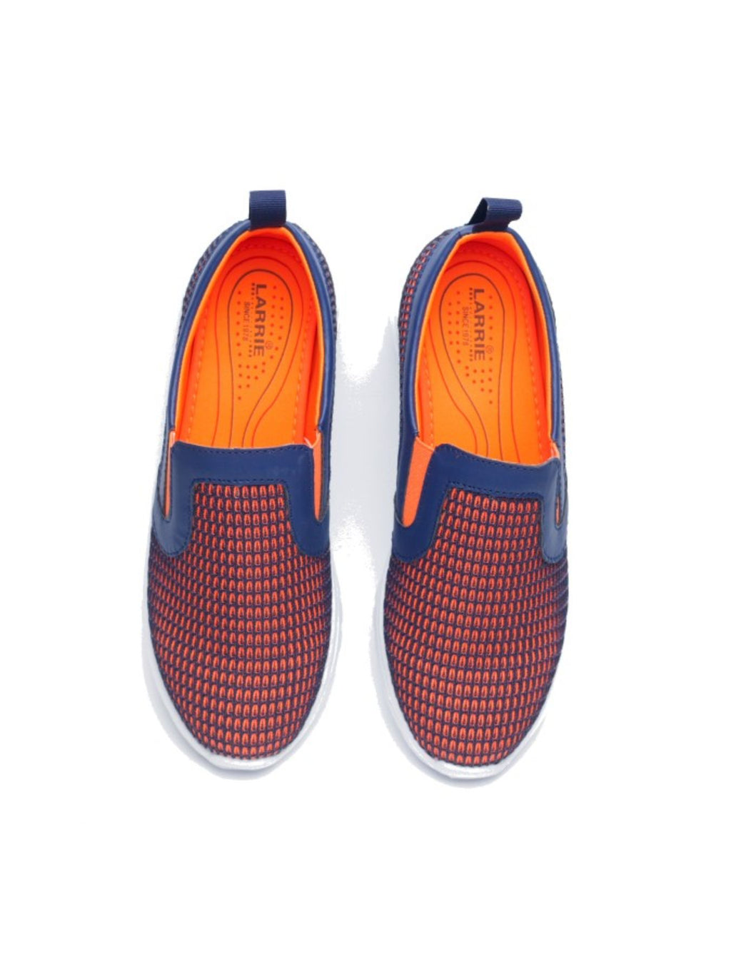 Larrie Orange Youthful Sport Sneakers