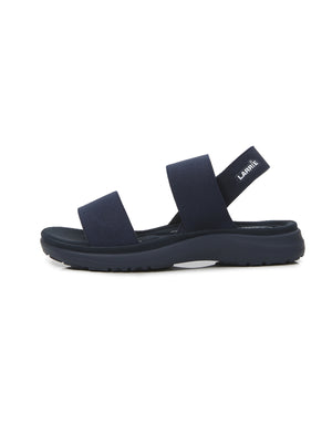 Larrie Women Navy Strap Lifestyle Casual Women's Sandal