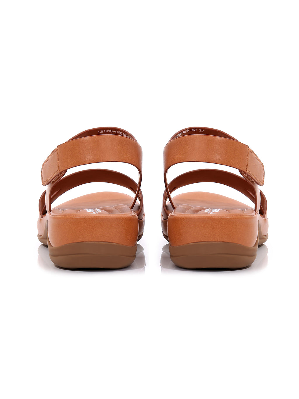 Larrie Camel OOTD Comfort Sporty Sandals