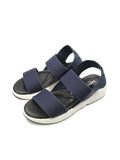 Larrie Navy Stylist Elastically Strap Comfortable Sandals