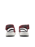 Larrie Red Stylist Elastically Strap Comfortable Sandals