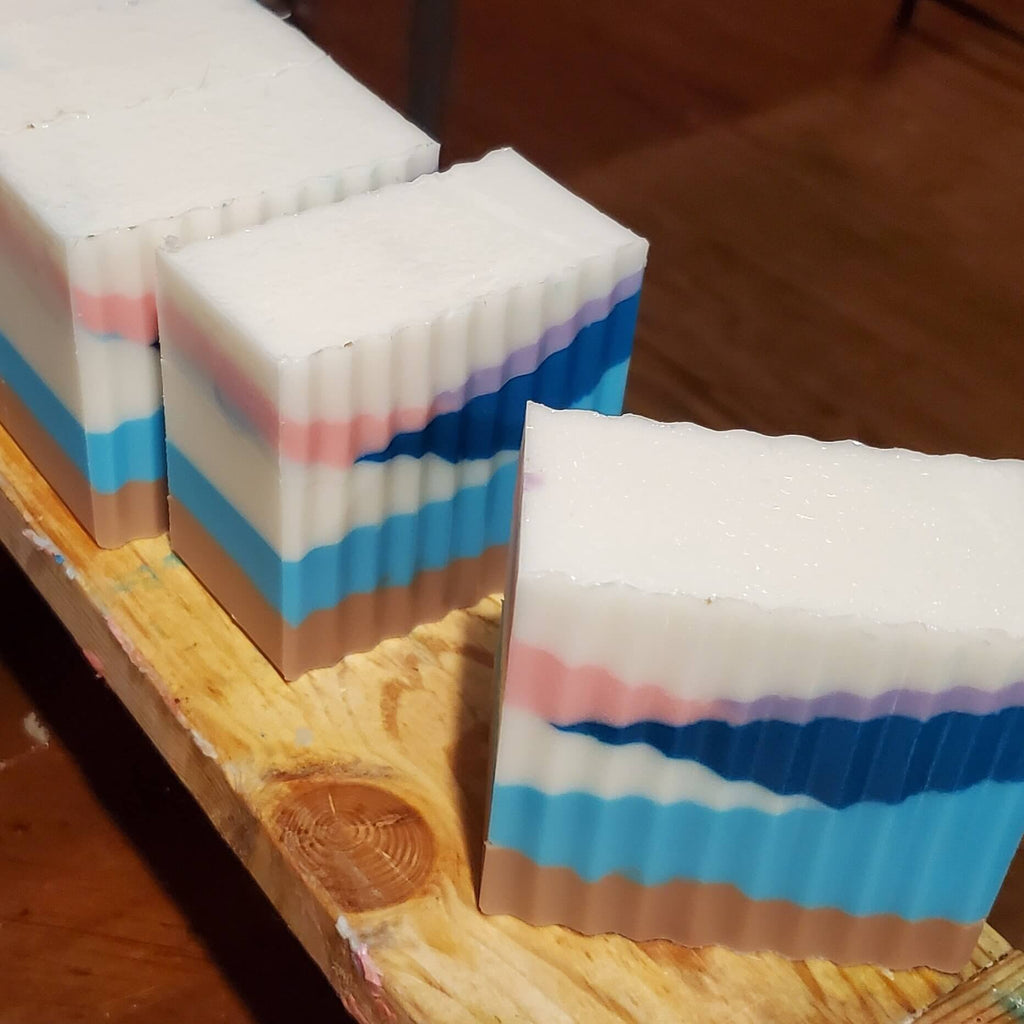 """BEACH"" CHUNKY BUTTERMILK SOAP"