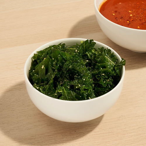 Perfect Pairings: Kale Salad and Roasted Tomato Soup