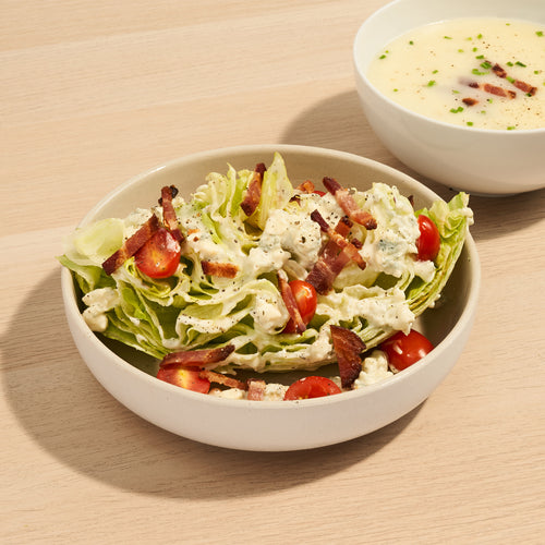 Perfect Pairings: Wedge Salad and Potato Leek Soup