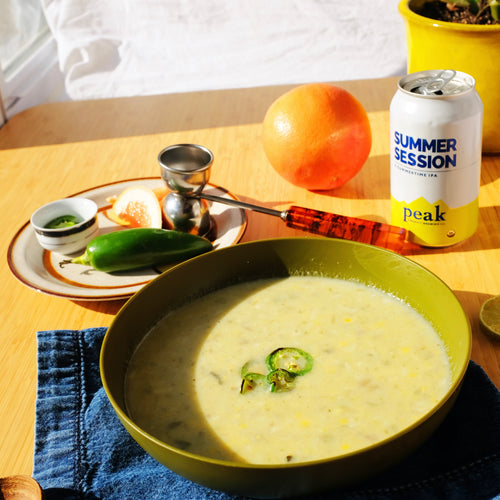 Summer's Best Soup and Drink Pairings
