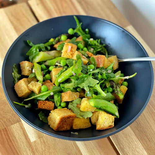 How to Make Our Green Panzanella
