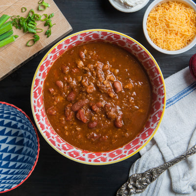 Red Bean & Chickpea Chili