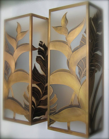 Hawaiian Heliconia Sconces 22