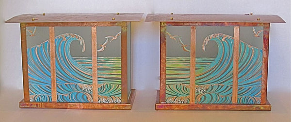 Surf Sconces Column Fixture