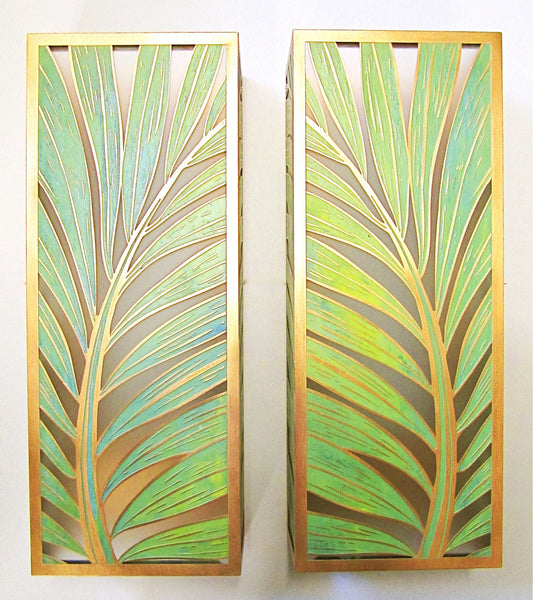 Coconut Palm Sconce - Large