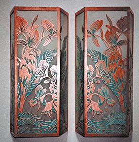 Hawaiian Ginger Sconces