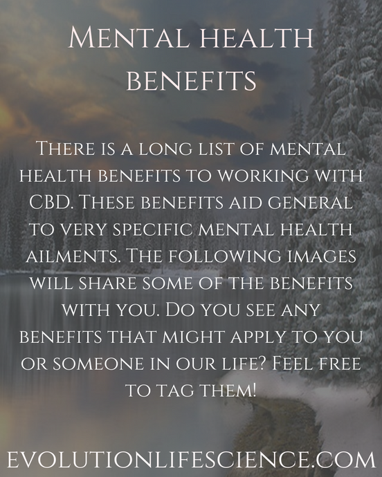 CBD Mental Health Benefits