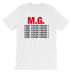M.G. Use Your Head! Tee-Shirt