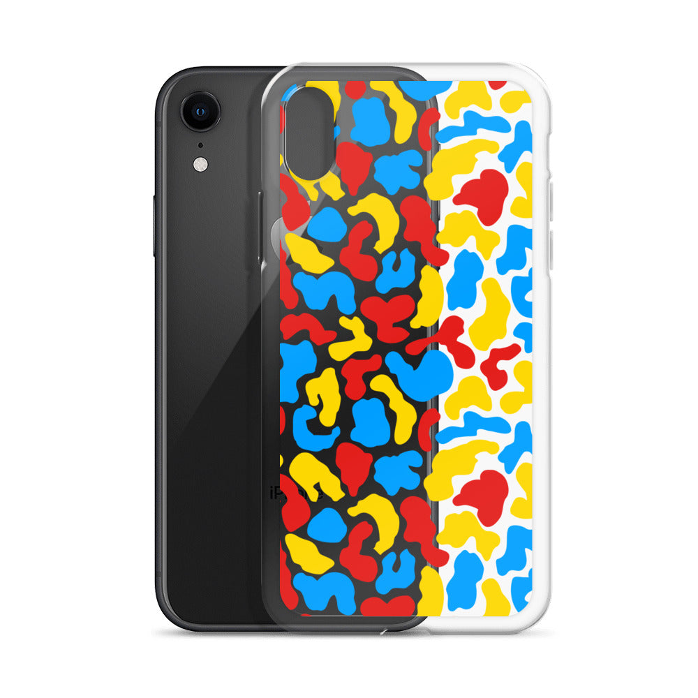 Acid Camo iPhone case