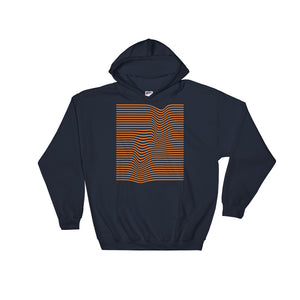 Wave Orange Unisex Hoodie