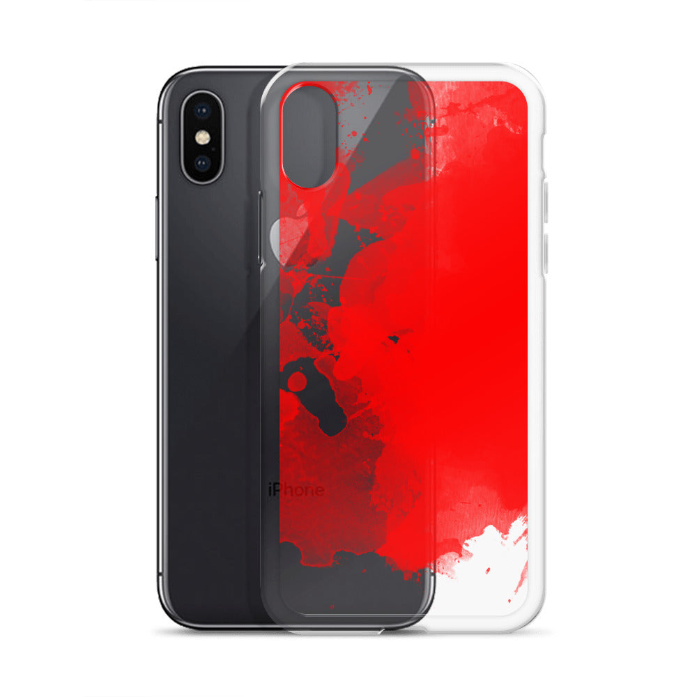 Color Me Blood iPhone case