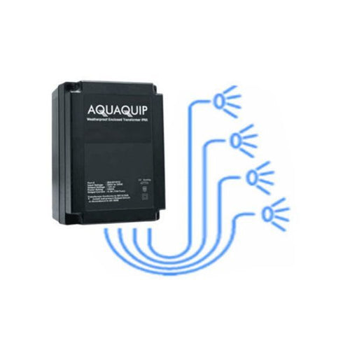 Aquaquip 12 volt Transformer - 4 x 30VA outputs