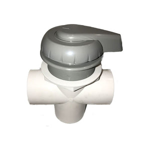 Balboa / Hydroair Spa Diverter Valve 50mm Grey