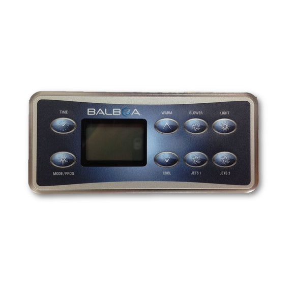 Balboa VL801 D Series Deluxe 8 Button Touch Pad and Overlay