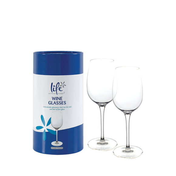Life Wine Glasses