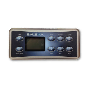 Balboa VL801D E8 Serial Deluxe Touchpad and Overlay