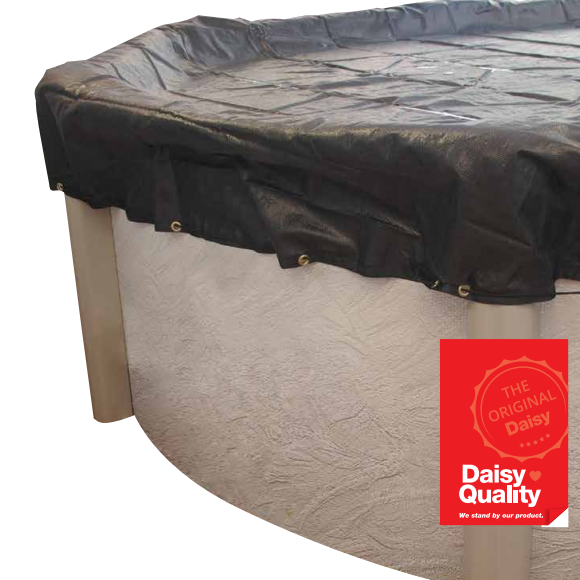 Daisy PoolKap Oval Pool Protection Cover