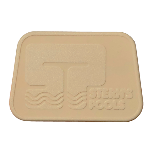 Sterns logo screw cover