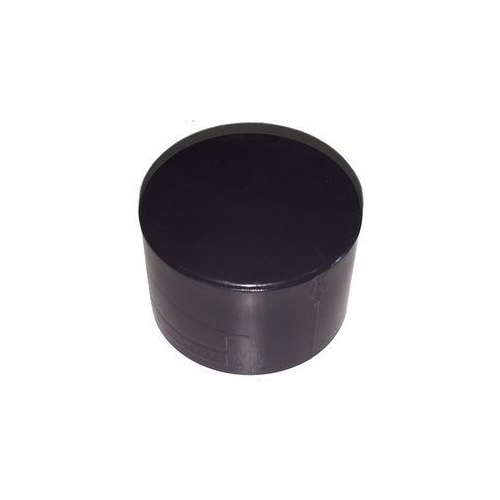 Black End Cap 40mm (Cat 6)